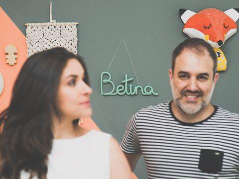 Rafa + Rafa = Betina (8 meses)